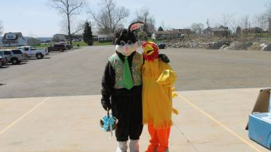 Chicken BBQ/Easter Egg Hunt